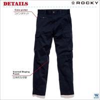 ROCKY カーゴパンツ メンズ パンツ ROCKY WORKWEAR 作業ズボン ストレッチツイル ロッキー CARGO PANTS bm-rp6601