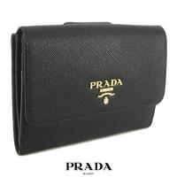 プラダ/PRADA/折り財布/サイフ/SAFFIANO METAL/1MH523 QWA/NERO/...