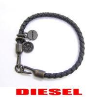 ディーゼル DIESEL ユニセックス ブレスレット ASANTY X03739 PR250 ブラッ...