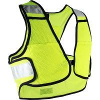 【特急】R250 サイクル反射ベスト ポケット付き ネオンイエロー フリーサイズ
