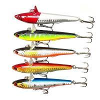 重さ:14.5g 幅:9cm  フック:三本釣り針  定番カラー・5色のシンキングバイブレーション ...