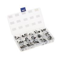 材質:ステンレスフレーム・耐摩耗性セラミックリング サイズ:15種類各5個 計75個入り 収納用タッ...