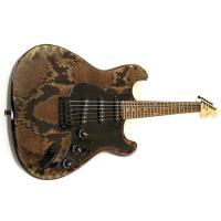 【商品名】Strat Style Electric Guitar - Snake Skin エレキト...