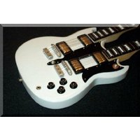 【商品名】ALEX LIFESON ミニチュア Mini Guitar doubleneck Rus...
