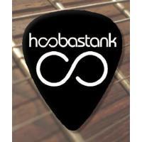 【商品名】Hoobastank Logo Premium ギターピック x 5 Medium ギター...