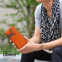 ジーンズの後ろポケットに愛着のイタリア革財布を・・・。素材の良さと使い易さを感じていただける製品です...