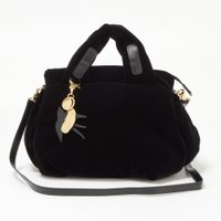シーバイクロエ SEE BY CHLOE 今からの季節にピッタリなベロア素材がとってもかわいいバッグ...