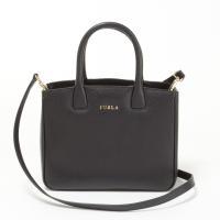 フルラ FURLA マットで上質なレザーを用いた上品さが素敵な2WAYバッグ。がエレガントな印象で、...