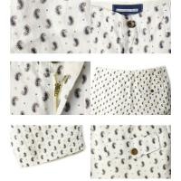 LAUNCH BASIC TRADEラウンチベーシックトレードSHORT PANTS ショートパンツPAISLEY/LINEN WHITE(ペイズリー/リネンホワイト)SHORTS メンズ ショーツ 麻