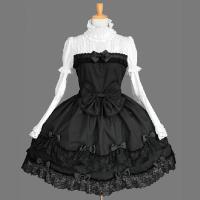 【素材/色】コットン 100% ブラック/ホワイト 【サイズ】 フリーサイズ 【着丈】:93cm  ...