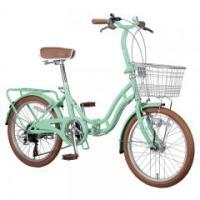 可愛らしい折りたたみ自転車お求め
