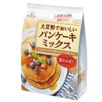 小麦粉を使用しない、大豆粉のパンケーキです。コクと塩味の隠し味に粉末みそを使用しています。朝食用、デ...
