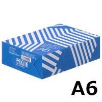 領収書、納品書などおすすめなA6サイズ定番の自然色コピー用紙「スーパーエコノミー」 領収書、納品書な...