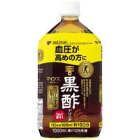 血圧が高めの方のための「特定保健用食品の黒酢ドリンク」です。1日分(100mlあたり)に食酢の主成分...