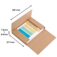 書籍・カタログ・通販での少量の荷物などの発送に便利。最薄に梱包すれば、メール便サイズにも対応。5段階...
