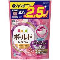 ボールド ジェルボール3D プレミアムブロッサム 詰め替え 超ジャンボ 1個(44粒入) 洗濯洗剤 ...