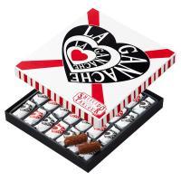 ココアクランチを加えたなめらかなチョコレートを、ベルギー産の上質なチョコレートで包み込み、さらにココ...