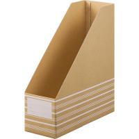 机上での使用に便利ボックスファイルA4タテ型5冊セット。信頼の日本製でしっかりしていて組み立ては簡単...