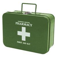 そのまま置いておくとどうしても生活感が出やすい常備薬や救急アイテム。専用の救急箱にまとめておけばすっ...