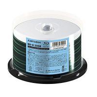 三菱ケミカルメディアバーベイタムverbatimデータ用6倍速対応BD-R50枚25GB ホワイトプ...