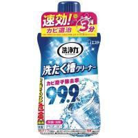 塩素系(液体)。カビを強力分解して除菌。 塩素系の洗濯槽クリーナー エステー 洗浄力(センジョウリキ...