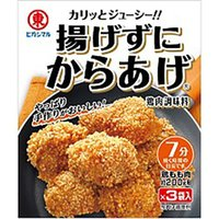 鶏もも肉にまぶしてフライパンで焼くだけでからあげが出来ます。焙煎うるち米の特製衣でカリッと香ばしい。...