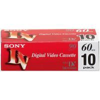 ソニー ミニDVCテープ60分 10DVM60R3 1パック(10巻入)
