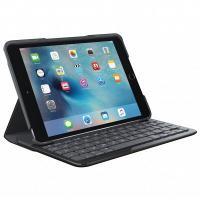 ロジクール iPad mini 4用キーボード一体型保護ケース Canvas ブラック iK0772...