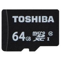 転送クラスclass10、容量64GB、SD変換アダプタ付 TOSHIB 正規品 スマホ、タブレット...