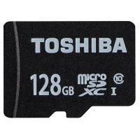 転送クラスclass10、容量128GB、SD変換アダプタ付 SDカード/SDカード TOSHIBA...
