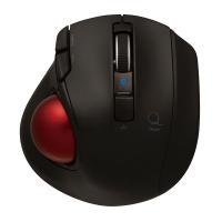 ナカバヤシ(Digio2) Bluetooth対応小型静音トラックボール ブラック 5ボタン/レーザ...