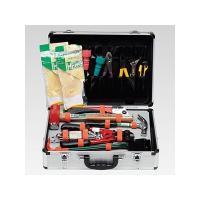 小型工具と災害時に必要なアイテムをセット 大塚消火器の救出活動用工具アルミ救助工具セット。小型工具と...