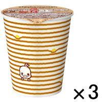アスクル・ロハコ限定デザインの「チキンラーメンカップ」。ふわふわたまご入りでもらってうれしいデザイン...