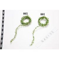 《 造花 グリーン 》花びし/ハナビシ 6FTミニフラワーロープ