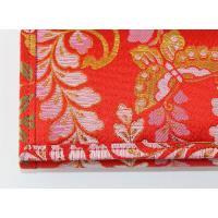 高級金襴財布(藤に蝶)