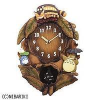 【商品解説】 ●毎正時メロディ  毎正時になるとオルゴールで「となりのトトロ」のテーマ曲が流れます。...