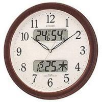 シチズン 電波掛け時計「ネムリーナカレンダー」 4FYA01‐006