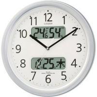 シチズン 電波掛け時計「ネムリーナカレンダー」 4FYA01‐019