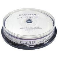 【商品解説】 〔1回書き込み用DVD+R DLメディア(二層式)〕 ●2.4−8倍速 ●10枚スピン...