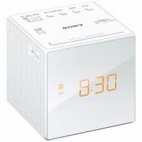 【商品解説】 ●大きな文字で見やすいデジタル時計を搭載 ●キューブ型の省スペース設計なので、ベッドサ...