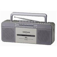 【商品解説】 【ワイドFM対応】ラジカセ(ラジオ+USBメモリー+カセットテープ)