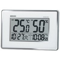 【商品解説】 ●大きな温度・湿度表示でお部屋の環境確認に便利。 ●見やすい高コントラスト液晶を採用。...
