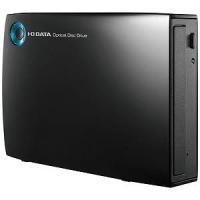 I・O・DATA USB 3.0接続 外付けDVDドライブ(ブラック) DVR‐UT24EZ