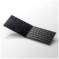 コジマYahoo!店 - エレコム (スマホ/タブレット対応)ワイヤレスキーボード タブレットスタンド付き(日本語79キー) TK−FLP01BK (ブラック)|Yahoo!ショッピング