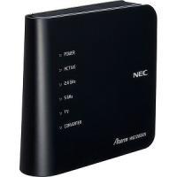 NEC 無線LANルーター 親機単体 Aterm WG1200CR PA-WG1200CR ブラック