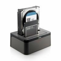 ロジテック ハードディスクスタンド 2.5/3.5インチ 2BAY[USB3.0/SATA・Mac/Win] LGB-2BDPU3ES ブラック