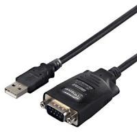 【商品解説】 ●USBコネクタをシリアルコネクタに変換し、RS232C周辺機器を接続するケーブル ●...