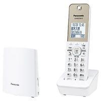パナソニック Panasonic [子機1台]コードレス電話機 VE-GZL40DL-W ホワイト