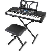 ONE TONE 電子キーボード初心者セット[61鍵盤] 【ステージタイプ】 OTK-61S