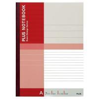 プラス 無線綴じノート ベーシック セミB5 30枚 A罫 75085 1パック(10冊入)